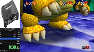 Super Mario 64 - 16 Star Speedrun in 19:59