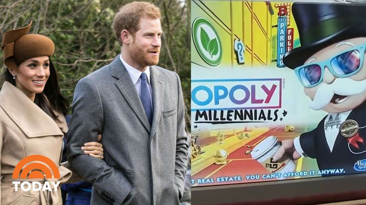 Royal Family's Surprising Holiday Tradition, And Monopoly For Millennials   TODAY
