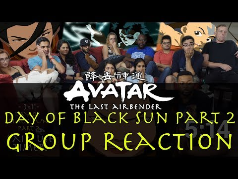 Avatar: The Last Airbender - 3x11 Day of Black Sun Part 2 - Group Reaction