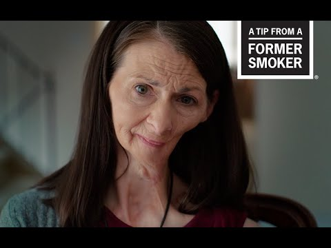 CDC: Tips From Former Smokers - Christine: Oral Cancer Effects