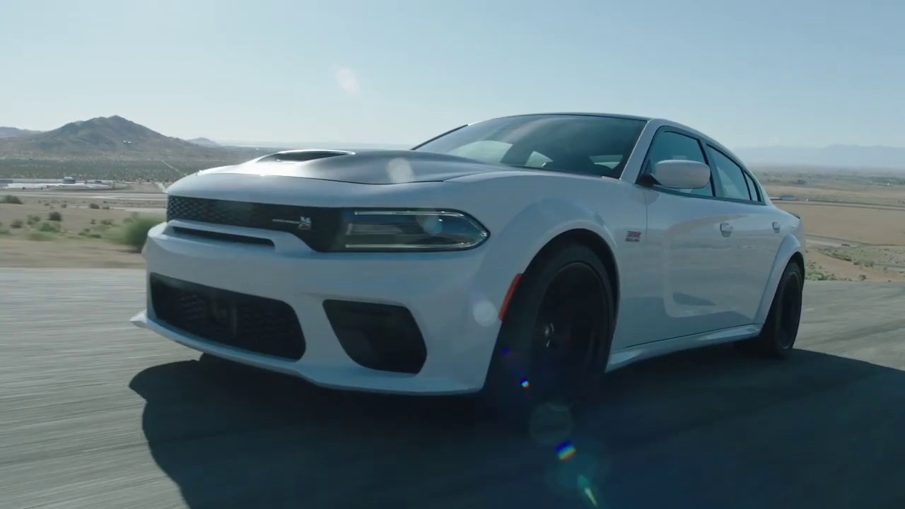 2020 Dodge Charger Scat Pack Widebody Running Footage