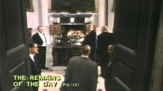 Remains Of The Day Trailer 1993