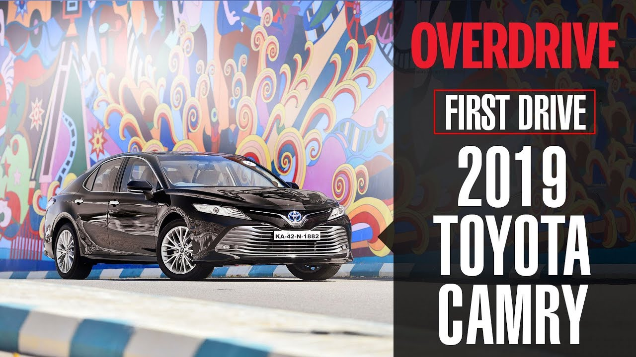 2019 Toyota Camry | First Drive | OVERDRIVE