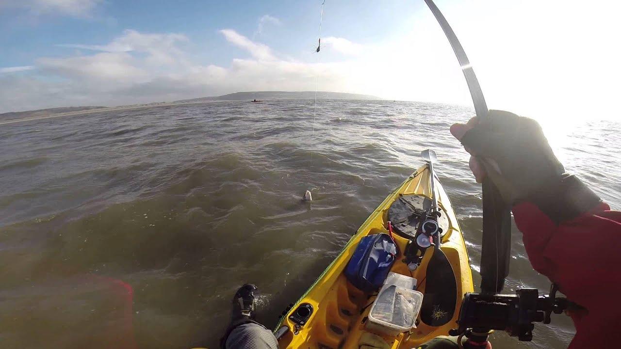 Kayak fishing bristol channel youtube for Youtube kayak fishing
