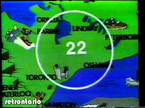 Global TV sign off 1982