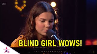 She May Lost Her Vision..but Her Voice Is...pure Angelic!   Britain's Got Talent 2020