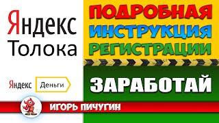 Яндекс Толока | Подробная инструкция по регистрации
