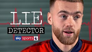 Calum Chambers takes a LIE DETECTOR test! | The Interrogation