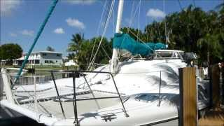 Fortuna Island Spirit 35 catamaran Fat Cat