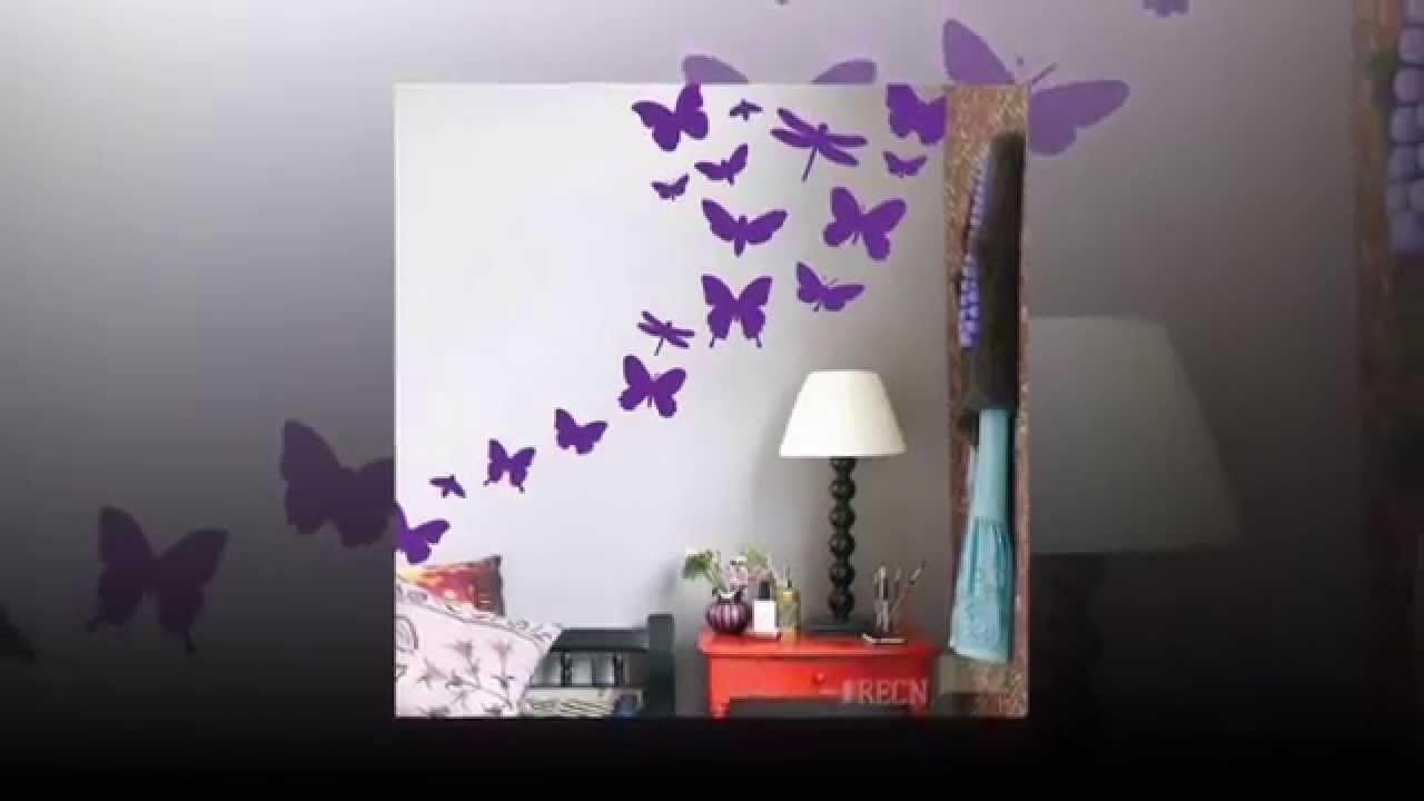 Украшаем стены своими руками из бумаги бабочки фото 871