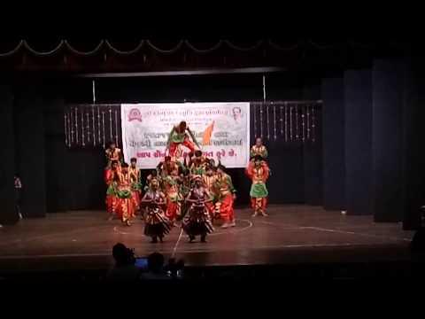 Om namah shivay song performance in Gandhi smruti Bhavan by D R Rana Bharat sir Rhythm group garba c