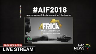President Ramaphosa delivers keynote address at the Africa Investment Forum