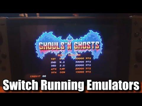 Nintendo Switch Hacked To Run Emulators & Virtual Console News
