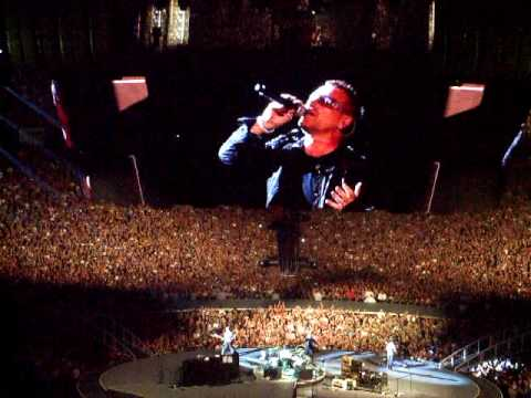 U2 - Elevation (live, Veltins Arena Gelsenkirchen, 03.08.'09)