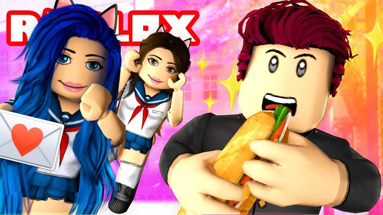 OUR FIRST DAY AT ROBLOX ANIME HIGH SCHOOL!