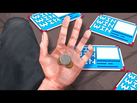 Homeless Man WINS ON SCRATCH CARDS! - Change: A Homeless Survival Experience