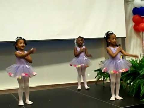 LET GO LET GOD PRESCHOOL PRAISE DANCERS