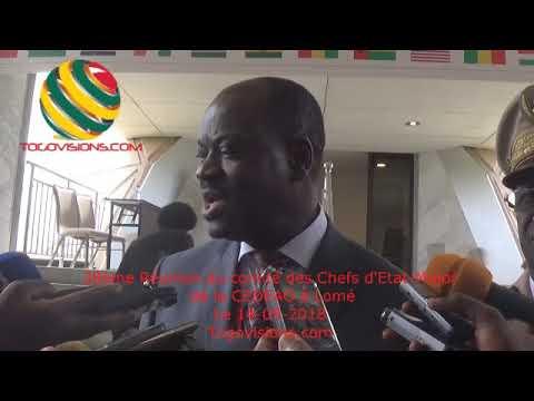 Togo/ Des Chefs d'Etat-Major de la CEDEAO se planchent sur des questions de stabilité dans l'espace
