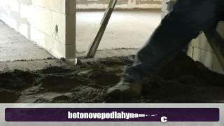 Betonové podlahy na míru
