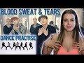 [CHOREOGRAPHY] BTS (방탄소년단) '피 땀 눈물 (Blood Sweat & Tears)' Dance Practice - Reaction [GENA VLOGS]