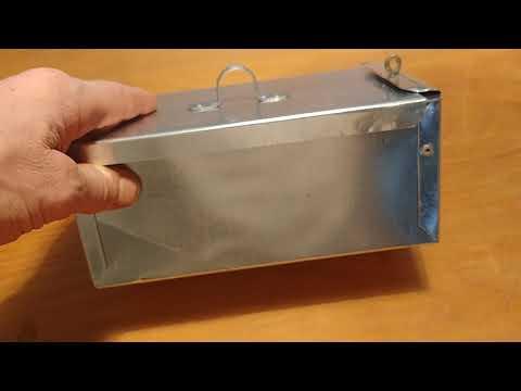 Metal toolbox lid idea