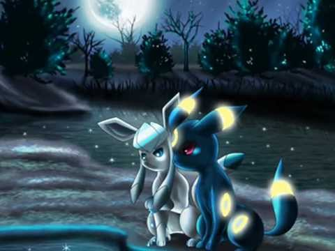Umbreon And Glaceon Whispers In The Dark Youtube
