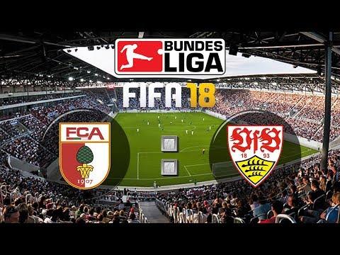 FIFA 18 Bundesliga FC Augsburg : VfB Stuttgart | Gameplay Deutsch Livestream