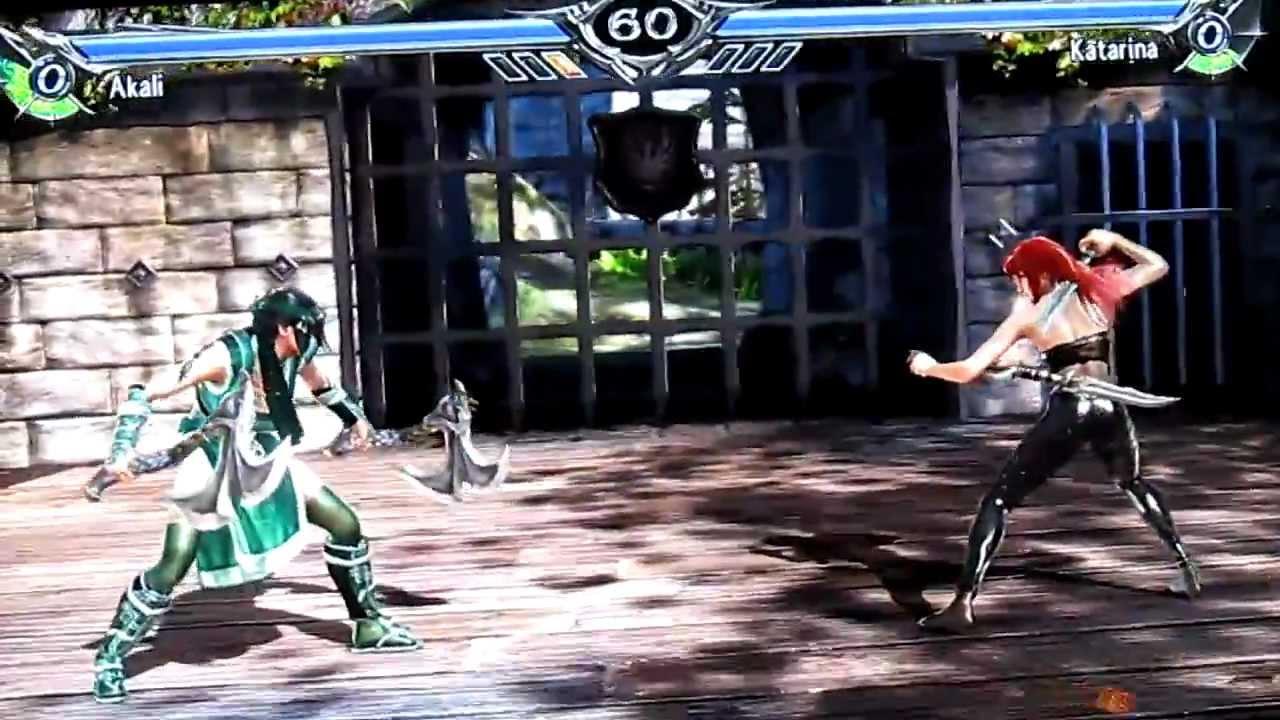 Akali vs Katarina (LoL x SCV)