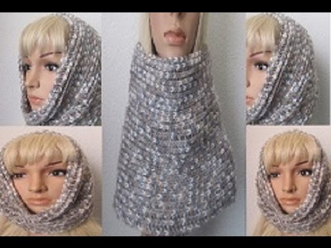 How to Crochet a Cowl-Neckwarmer Pattern #22│by ThePatternFamily ...