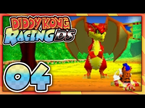 Let's Play: Diddy Kong Racing DS - Part 4: Dragon Forest ...