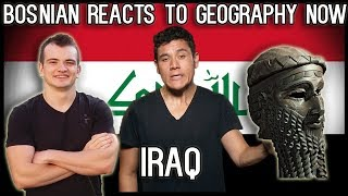 Bosnian reacts to Geography Now - Iraq