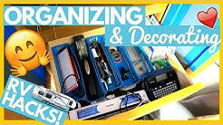 RV Hacks For Organizing & Decorating Your RV 🤗 Full Time RV Living