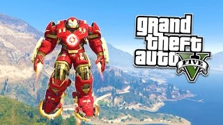 GTA 5 PC Mods - EXTREME HULKBUSTER MOD! GTA 5 Hulkbuster Mod Gameplay! (GTA 5 Mods Gameplay)