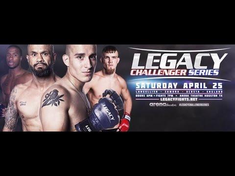 Legacy Challenger Series 1: Angel Zamora vs Jacob Norsworthy