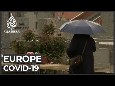 COVID-19: Spain, France Record Highest Single-day Deaths