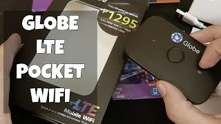 A Huawei branded LTE pocket WIFI from Globe for just P1295 with 5GB...