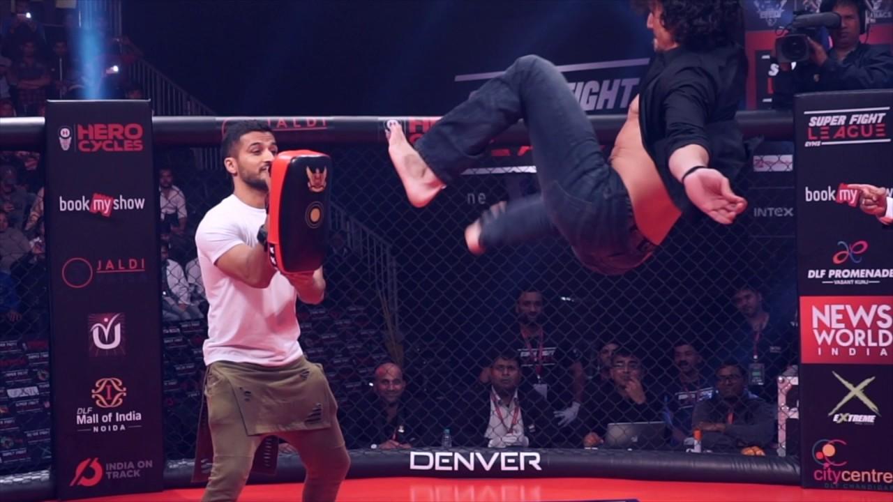 Insane aerial kicks!   Tiger S...