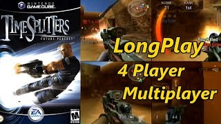 TimeSplitters: Future Perfect  - Longplay 4 Player Multiplayer All Maps & Game Modes (No Commentary)