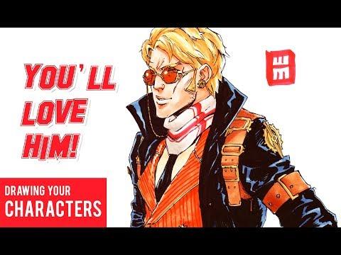 Drawing Your Original Characters: Steam Punk Mafia Ep. 13 thumbnail