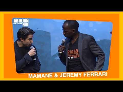 MAMANE & JEREMY FERRARI: Quand un blanc découvre le tchip, à Abidjan.