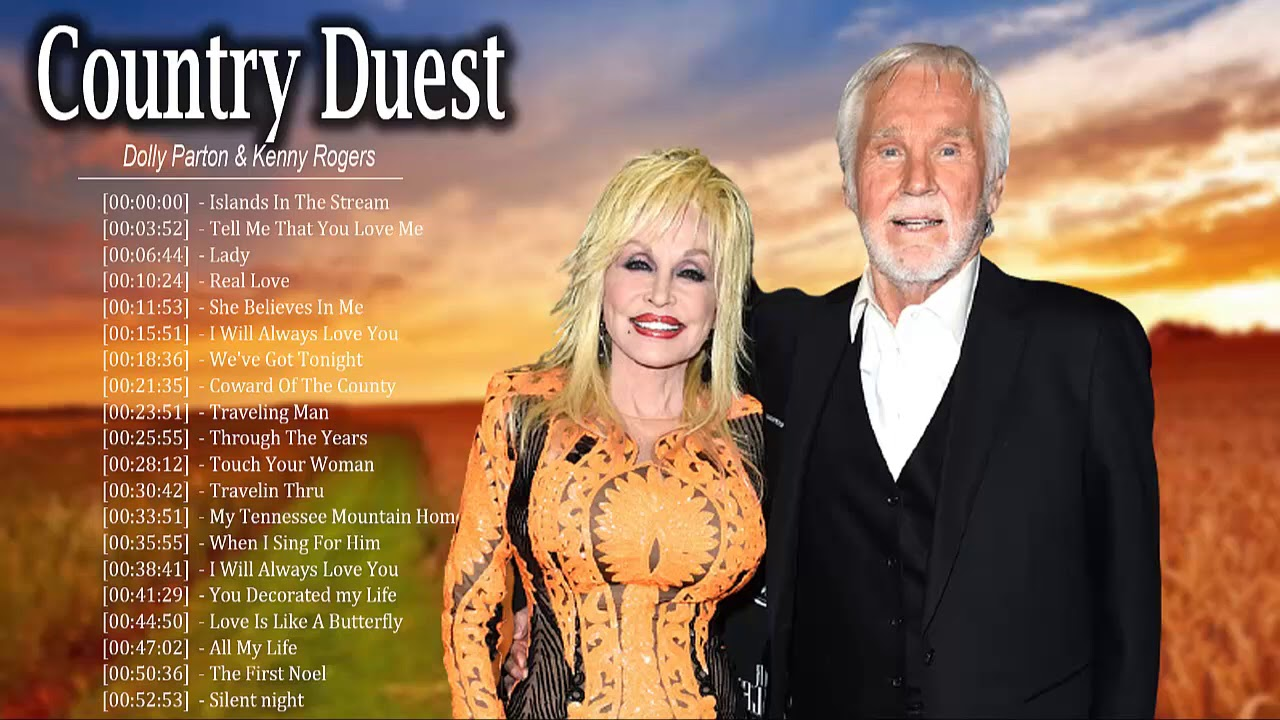 Download Kenny Rogers, Dolly Parton: Greatest Hits - Best Country Duet Love Songs - Country Music 2020