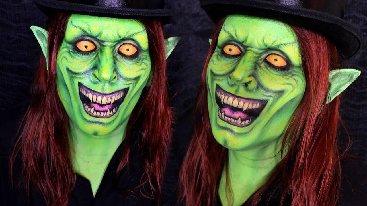 House of m green goblin - Green Goblin Makeup Tutorial Halloween Day 17