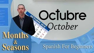 The Months & Seasons in Spanish | Spanish For Beginners (Ep.14)