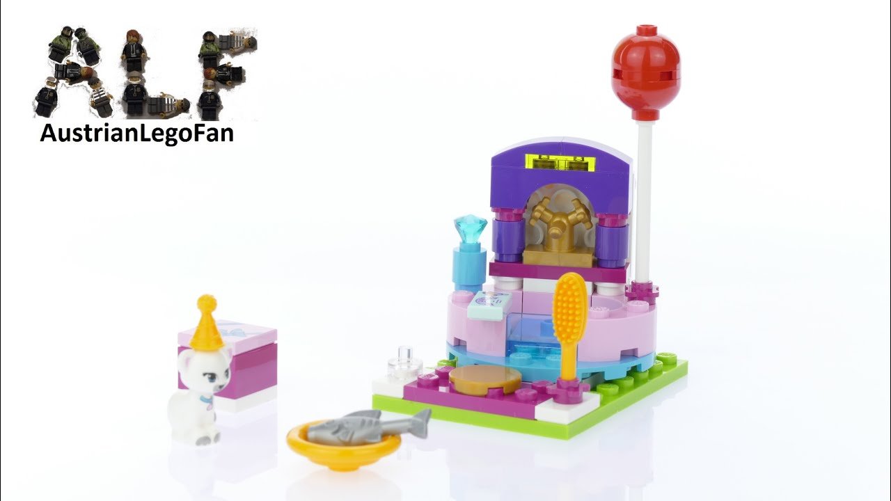Lego Friends 41114 Party Styling - Lego Speed Build Review - YouTube