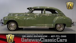 1948 Dodge Deluxe 6 Cylinder 3 Speed Manual with Fluid Drive stock #403-ORD