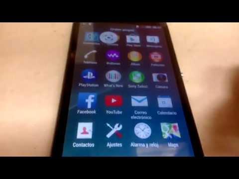Sony E4 Accesorios y Funciones Basicas