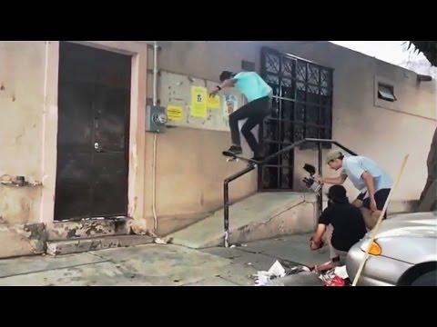 INSTABLAST! - Fakie 540 Trashcan On Flat!! Old Man Triple Board Handstand! South America Skating!