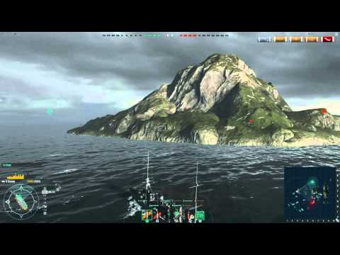 World of Warships - Twitch Highlight - Excellent Omaha match