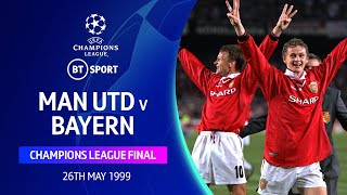 Solskjaer clinches the Treble! | Man Utd vs Bayern Munich 1999 Champions League Final Highlights