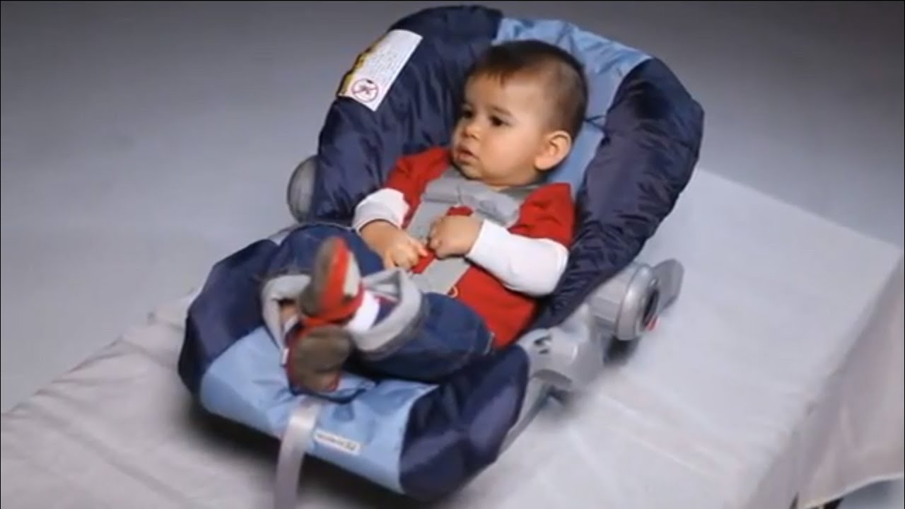 Installing a Rear-Facing Child Car Seat - YouTube
